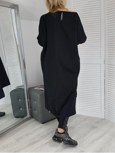 SUKIENKA/TUNIKA FRIDAY OVERSIZE BLACK