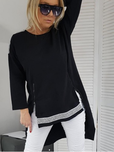 BLUZA CANCUN  BLACK