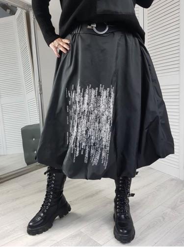 SPÓDNICA  BOMBKA  BLACK
