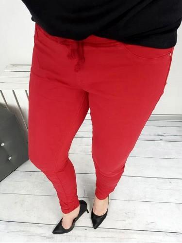SPODNIE BAGGY RED